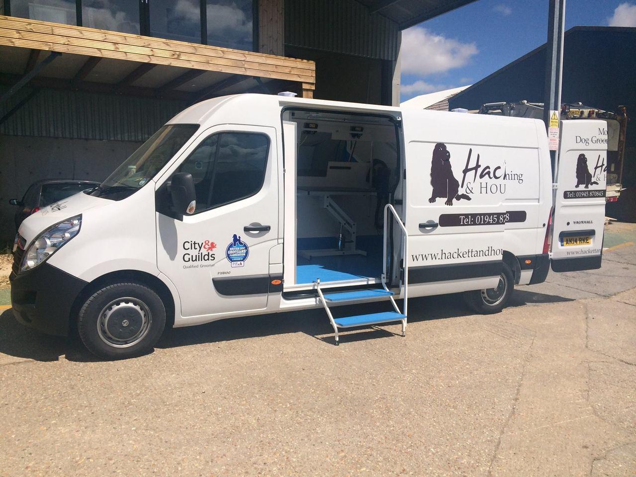 Hackett Hounds Mobile Grooming Van