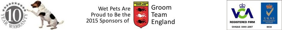 10 Year Guarantee with our products. We're proud to be 2015 Sponsor of Groom Team England. We're VCA Registered
