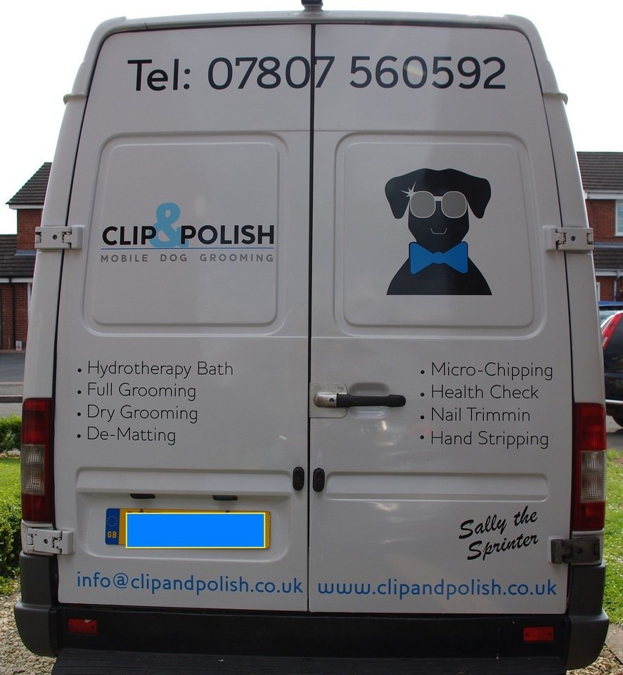 Clip and Polish Mobile Grooming Van
