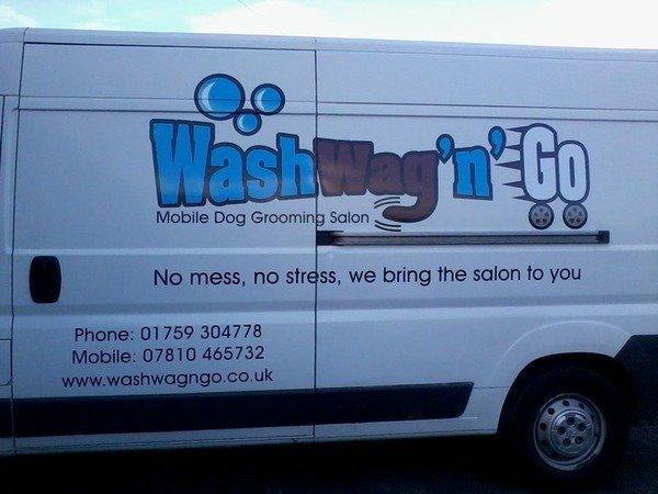 Wash Wag N Go Van Conversion