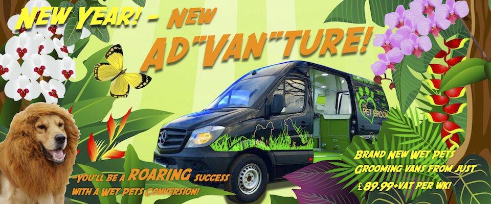 Pet Grooming Van Conversion