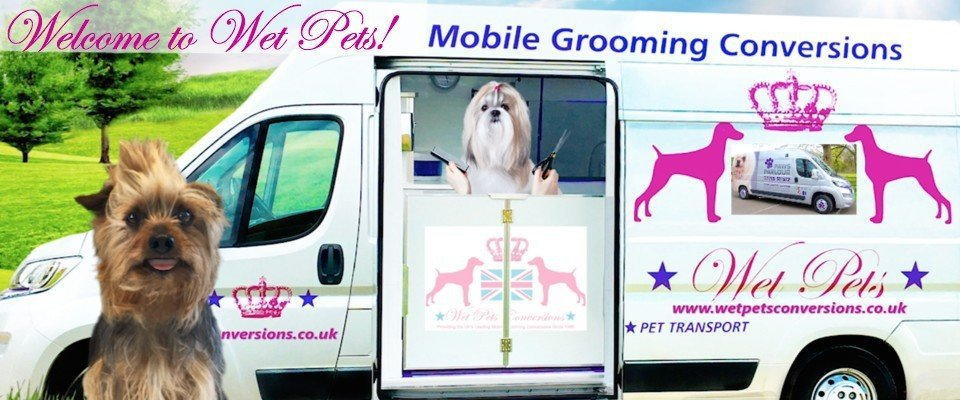 Pet Grooming Van Conversion Dog Grooming Trailer Wet Pets