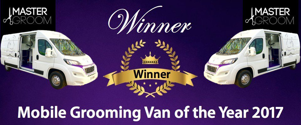 Master Groom Winner of Mobile Grooming Van of the Year 2017